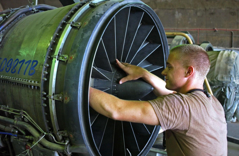 on Aircraft Engine Mechanical Engineering